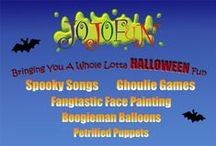 Halloween Party Entertainment for Kids in London / Halloween entertainers bring fangtastic fun to children's party events in London and the surrounding counties. Read more at https://www.jojofun.co.uk/halloween-parties/  Email: jojo@jojofun.co.uk Tel: 07743 196691