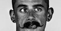 lonesome moustache / moustaches