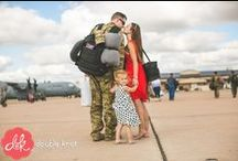 Welcome Home, Soldiers! / This board is dedicated to our soldiers who are returning home from their time over seas. Capturing the pure joy of a family reuniting is a heart warming experience and we are blessed to be able to capture this kind of love and happiness!