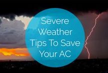A/C Maintenance / Don't let your air conditioner die on you! Here are some tips to keep your system running smoothly.