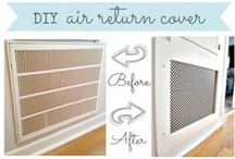 Your Lovely Home / Want to hide those unsightly ac vents? How about other design tips that just work? This is where you'll find 'em.