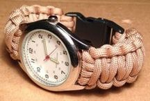 Paracord / We share all paracord diy crafts and project ideas here with free instructions.