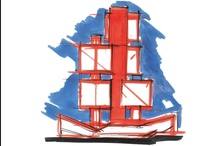 Pierre Parat, l'architecture aux grands traits / Exposition du 24 octobre 2012 au 7 janvier 2013