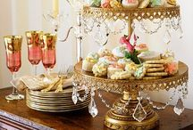 Cake Stands / Cake Stands and the Wonderful Sweets and Treats they Display / by Stephanie Webber Barry
