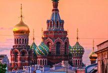 RUSSIA - РОССИЯ / Росси́я (от греч. Ρωσία — Русь; официально Росси́йская Федера́ция или Росси́я — государство в Восточной Европе и Северной Азии. Занимает первое место в мире по территории и девятое место по численности населения.  Столица — Москва. Государственный язык — русский.