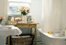 cottage bathrooms / Inspirations for our bathroom remodel