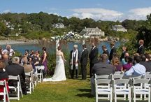 Stage Neck Weddings / Stage Neck Inn offers an unforgettable location and beachfront wedding facilities, exceptional cuisine and service! Our staff is dedicated to ensuring that the quality of your reception matches the grandeur of our one-of-a-kind oceanfront ceremony setting. We offer a range of uncomplicated packages depending upon the day you've selected.  Please call Dawn Whittemore (800-340-1130 x401) or email weddings@stageneck.com and arrange a tour! http://www.stageneck.com/southern-maine-coast-weddings.html / by Stage Neck Inn - York Harbor, ME