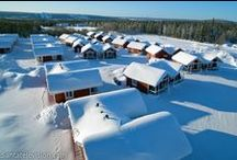 Accommodation in Santa Claus Village / Accommodation in Santa Claus Village in Rovaniemi in Finnish Lapland.