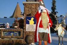 Santa Claus / Visit Santa Claus in Santa Claus Village in Rovaniemi in Lapland, Finland