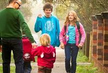 Walking with children / Tips and ideas to encourage children to step out every day.