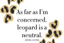 Leopard Obsession ❤️ / Leopard Clothing and Accessories / by Stephanie Webber Barry