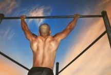 Pull Ups Exercise Videos and Tips / by Bodybuilding Fitness