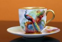 cups and saucers fincanlar