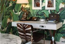 Interiors ~ Tropical/Palm Beach / by Stephanie Webber Barry