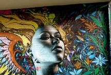 Street Art and Graffiti culture / The world is your playground