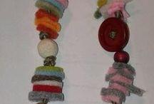 piccole cose coi bimbi - my works / oggettini fatti in un'ora da bambini fino a 11 anni o da nonne per i nipotini...