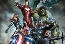 """Avengers - Marvel /  'If we can't protect the Earth, then you'll be damn sure we'll avenge it"""""""