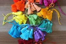 Tassels / My new obsession is tassels! Whether it be as garlands, at weddings or even used as home decor they are so gorgeous and look fabulous at any event