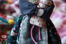 dal web - bambole e motanka / fantocci di stoffa e panno