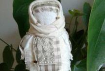 Le mie bambole - my works / bamboline di stoffa