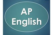 AP English / AP English Language and AP English Literature and Composition resources, lessons and ideas.