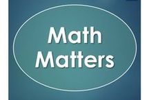 Math Matters / Math lessons from elementary to secondary