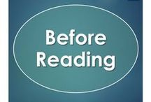 Before Reading / A collection of pre-reading activities or anticipation guides to get students hooked on a story.