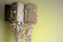 """Bookish Crafts / """"Creativity is intelligence having fun."""" -Albert Einstein"""