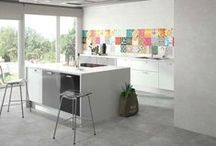 Kitchens / Latest ceramic collections for #kitchens.