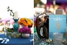 Wedding Reception Decorations / Ideas for the Reception Hall / by Jess Sohal
