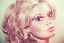 Moda lata 60-70 / modelki , aktorki ...