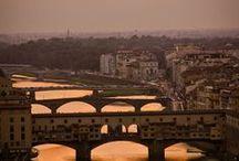 Firenze / Italia, Firenze, Toscana, ponte vecchio, piazza della signoria, d'uomo, arno,  pasta, Palazzo Vecchio