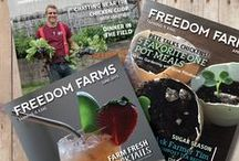 From Freedom Farms Magazine / Here are some of the crafts and easy food combinations published in our Freedom Farm Magazines. Each month we try to bring readers fresh, fun, creative ideas to try!