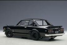 Classic Japanese Cars / Nostalgic JDM machines, faithfully replicated in scale.