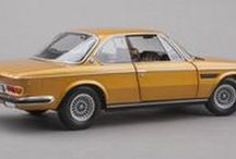 """BMW / The """"Ultimate Driving Machine,"""" faithfully replicated in precision scale model cars."""