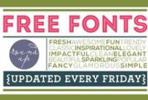 Font Fonts Font / fonts, design, type, typography, photoshop / by Jenni Marie