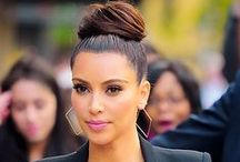 Hairstyle: Kim Kardashian style / #weddings #indianwedding #indianweddings #sjsevents #sonaljshah #sonaljshahevents www.sjsevents.com #SJSevents