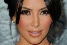 Make Up: Inspired Kim Kardashian / #weddings #indianwedding #indianweddings #sjsevents #sonaljshah #sonaljshahevents www.sjsevents.com #SJSevents