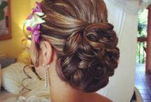 Hairstyle: Bridal Updos / #weddings #indianwedding #indianweddings #sjsevents #sonaljshah #sonaljshahevents www.sjsevents.com #SJSevents
