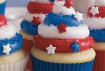 Fabulous Fourth  / Celebrate your fourth with a colorful drink recipe, festive getup, fun treats for the kiddos and a smile.