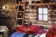 Cabin decor / by Stephanie