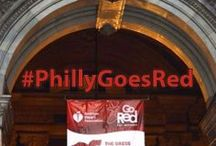 #PhillyGoesRed / Help us paint Philly RED on National Wear Red Day and February - American Heart Month! Don't forget to tag your Instagram, Facebook and Twitter photos with ‪#‎PhillyGoesRed‬‬‬ / by AHA Philly