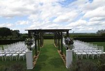 Outside Wedding Ceremonies at Bijou / A collection of images taken from outdoor weddings across all four Bijou Wedding Venues.