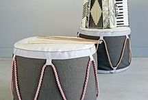 home goods / Storage/ Display Buckets for the home and workspaces.