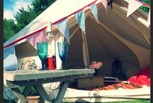Glamping / For those who love the outdoors in luxury...