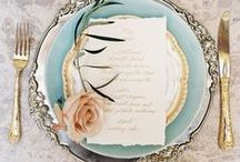 Elegant Wedding Inspiration / Elegant touches for your wedding, whatever time of year.