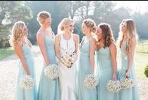 Bridesmaids and Flower Girls / Inspiration when it comes to your Maid of honour, bridesmaids and flower girls.