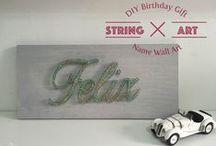 DIY - String Art / DIY - String Art