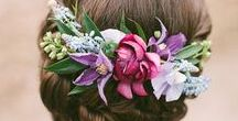 Flowers / A selection of beautiful blooms for wedding ideas and inspiration