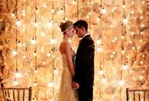 Lighting / Never underestimate the power of good lighting. Wedding day ideas and inspiration sparkles right here